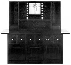 Hutch designed by Charles Rennie Mackintosh