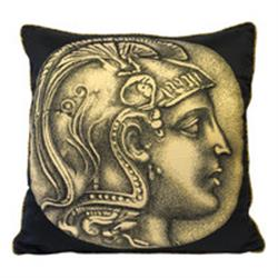 Fornasetti Pillow cushion NUMMUS MALE/MARMO gold in STOCK