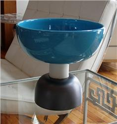 bowl turquoise large by ettore sottsass IN STOCK