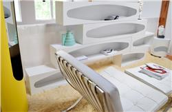 Joe Colombo Ellipse shelving system