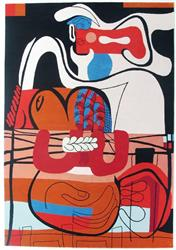 rug tapestry by le corbusier
