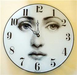 WALL CLOCK OROLOGIO VISO in STOCK