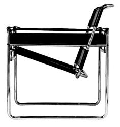 wassily chair marcel breuer 1925