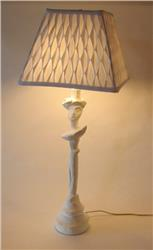 GIACOMETTI STYLE TABLE LAMP MASQUE