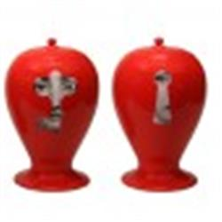fornasetti vase ltd edition lock & key RED SOLD OUT