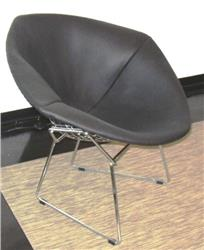 Harry Bertoia Diamond chair fully upholstered