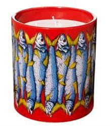 FORNASETTI SARDINE LARGE SCENTED CANDLE