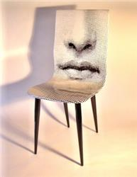 fornasetti chair mouth bocca