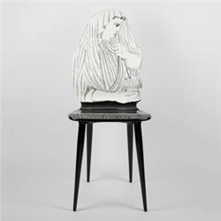 fornasetti chair inverno black and white