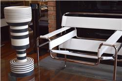 Wassily Chair by Marcel Breuer white IN STOCK
