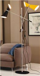 STILNOVO floor lamp double arm