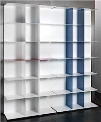WALL 100 modular shelving system