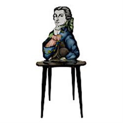 fornasetti chair DON GIOVANNI color