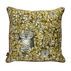 Fornasetti Pillow cushion Civette silk in STOCK