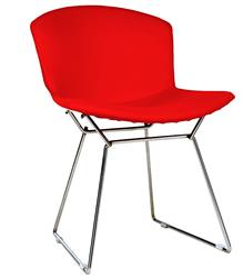 Harry Bertoia Side chair fully upholstered