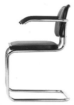 Marcel Breuer Cesca Armchair Upholstered