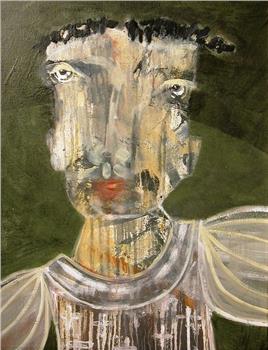 Robespierre Painting By Dan Sayles